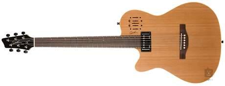 GODIN A6 Ultra LH Natural SG Levoruká elektroakustická hybridní kytara