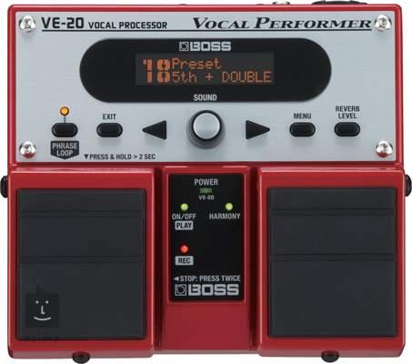 BOSS VE-20 Vokální  efektový procesor