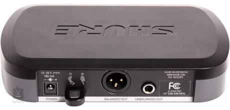 SHURE PG24E/PG58 - Q11 Ruční bezdrátový systém