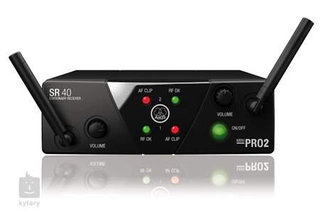 AKG WMS40 Mini2 VocalL Set Dual US45A/C Duální bezdrátový set