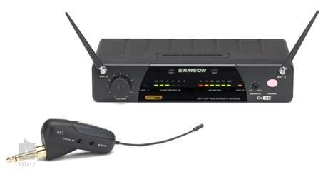 SAMSON AirLine 77 Guitar System AF1 E3 Kytarový/baskytarový bezdrátový set