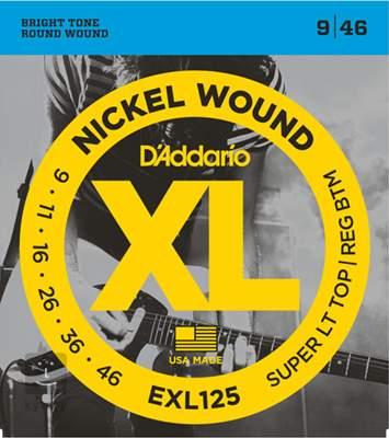 D'ADDARIO EXL125 Struny pro elektrickou kytaru