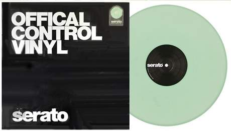 RANE Serato Performance vinyl GLOW Serato Performance series vinyl, 2ks