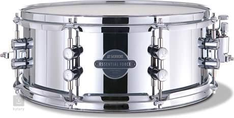 """SONOR 14"""" x 5,5""""  Essential Force snare Steel Snare bubínek"""