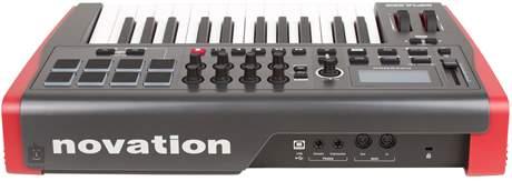NOVATION Impulse 25 USB/MIDI keyboard