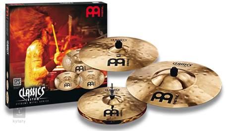 MEINL Classics Custom Extreme Metal Matched Cymbal Set Činelová sada