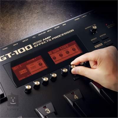 BOSS GT-100 2.0 Kytarový multiefekt