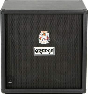 ORANGE OBC410 Black Baskytarový reprobox
