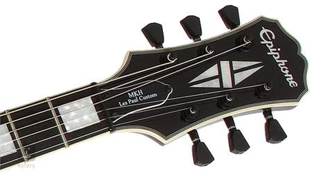 EPIPHONE Matt Heafy Les Paul Custom EB Limited Edition Elektrická kytara