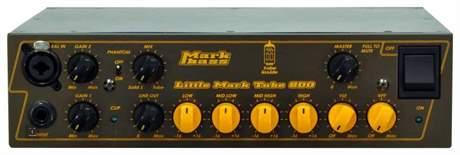 MARKBASS Little Mark Tube 800 Baskytarový hybridní zesilovač