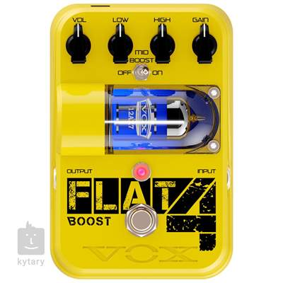 VOX Flat 4 Boost Kytarový efekt