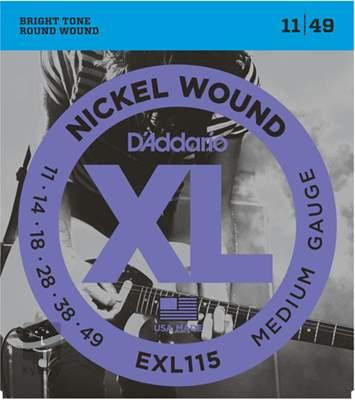 D'ADDARIO EXL115 Struny pro elektrickou kytaru