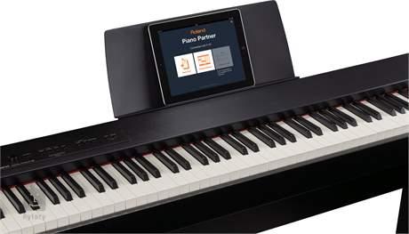 ROLAND F-20-CB Přenosné digitální stage piano