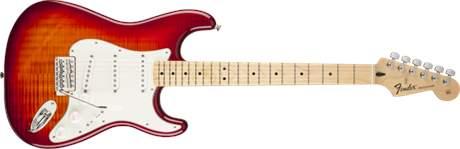 FENDER Standard Stratocaster Plus Top MN ACB Elektrická kytara