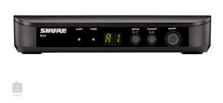 SHURE BLX24E/PG58 H8E Vokální bezdrátový set