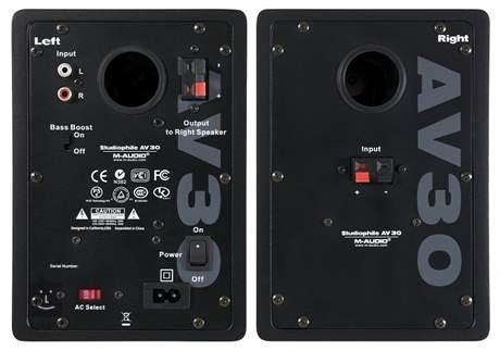 M-AUDIO AV-30 II Aktivní studiové monitory