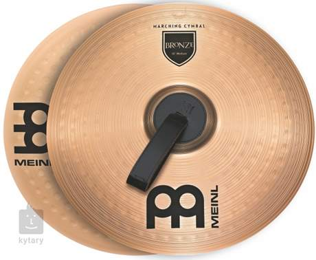 "MEINL 14"" Marching Bronze Medium Pochodové činely"