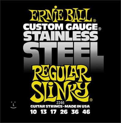 ERNIE BALL Stainless Steel Regular Slinky Struny pro elektrickou kytaru