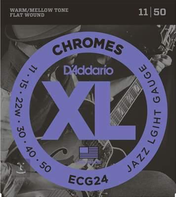 D'ADDARIO ECG24 Struny pro elektrickou kytaru