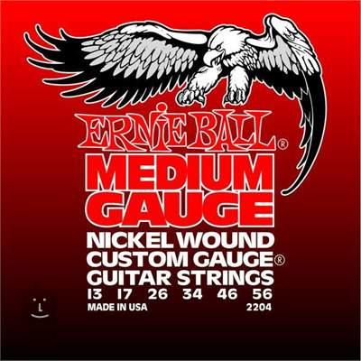 ERNIE BALL Nickel Wound Medium Struny pro elektrickou kytaru