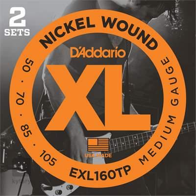 D'ADDARIO EXL160TP Struny pro baskytaru (2 sady)