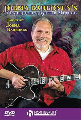 MS Jorma Kaukonen: Fingerpicking Guitar Method DVD