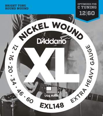 D'ADDARIO EXL148 Struny pro elektrickou kytaru