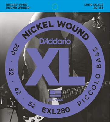 D'ADDARIO EXL280 Struny pro baskytaru