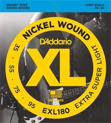 D'ADDARIO EXL180 Struny pro baskytaru