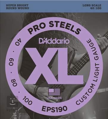 D'ADDARIO EPS190 Struny pro baskytaru