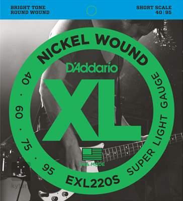 D'ADDARIO EXL220S Struny pro baskytaru