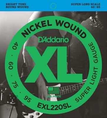 D'ADDARIO EXL220SL Struny pro baskytaru