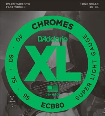 D'ADDARIO ECB80 Struny pro baskytaru