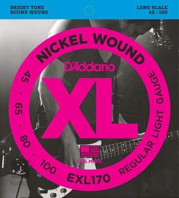 D'ADDARIO EXL170 Struny pro baskytaru