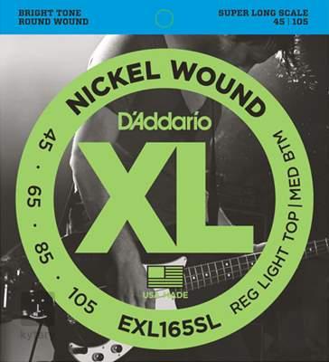 D'ADDARIO EXL165SL Struny pro baskytaru