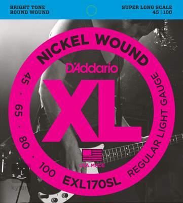 D'ADDARIO EXL170SL Struny pro baskytaru