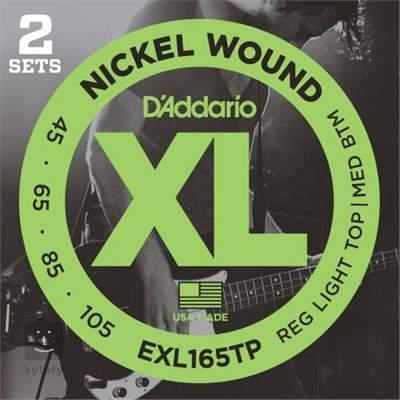 D'ADDARIO EXL165TP Struny pro baskytaru (2 sady)
