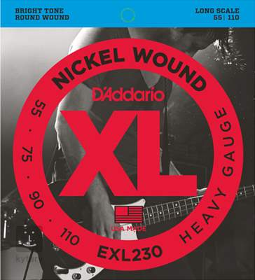 D'ADDARIO EXL230 Struny pro baskytaru