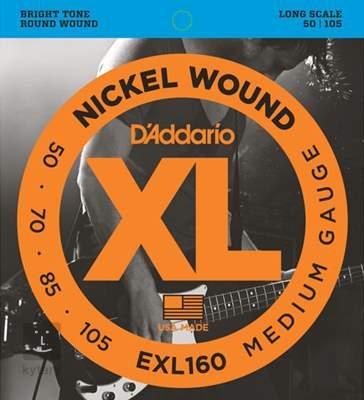 D'ADDARIO EXL160 Struny pro baskytaru