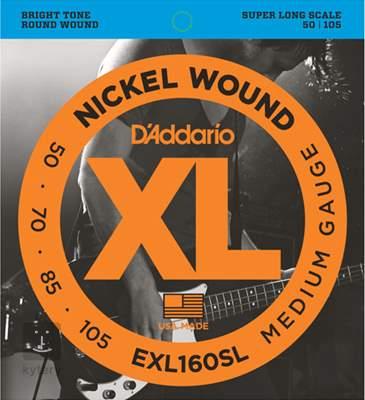 D'ADDARIO EXL160SL Struny pro baskytaru
