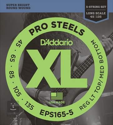 D'ADDARIO EPS165-5 Struny pro pětistrunnou baskytaru