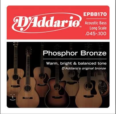 D'ADDARIO EPBB170 Struny pro akustickou baskytaru