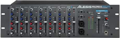 ALESIS MultiMix 10 Wireless Mixážní pult do racku