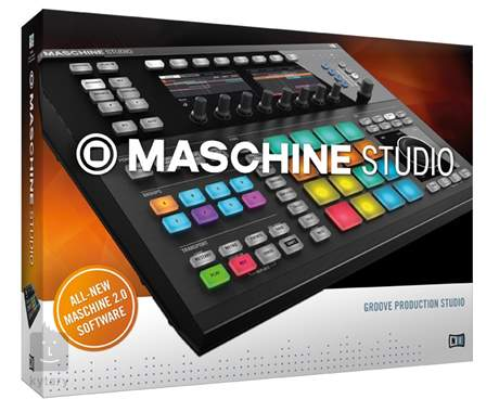 NATIVE INSTRUMENTS Maschine Studio BK Produkční studio