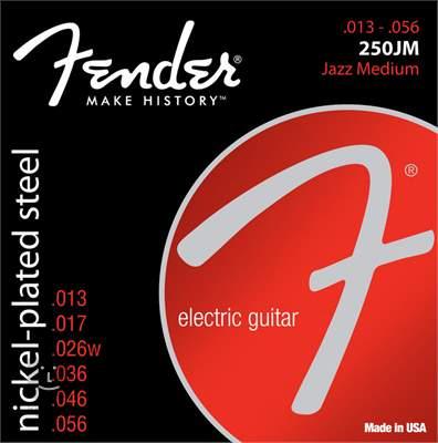 FENDER 250JM Struny pro elektrickou kytaru