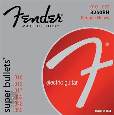 FENDER 3250RH Struny pro elektrickou kytaru