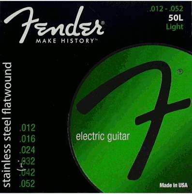 FENDER 50L Struny pro elektrickou kytaru