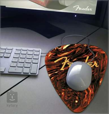 FENDER Celluloid Guitar Plectrum Mouse Mat Dárkový předmět