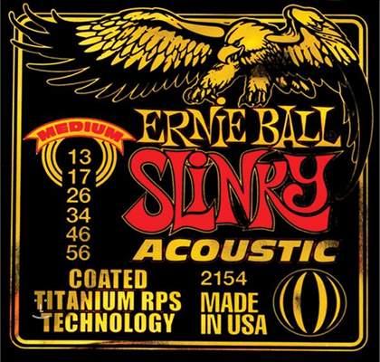 ERNIE BALL 2154 Kovové struny pro akustickou kytaru