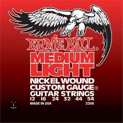 ERNIE BALL Nickel Wound Medium-Light Struny pro elektrickou kytaru